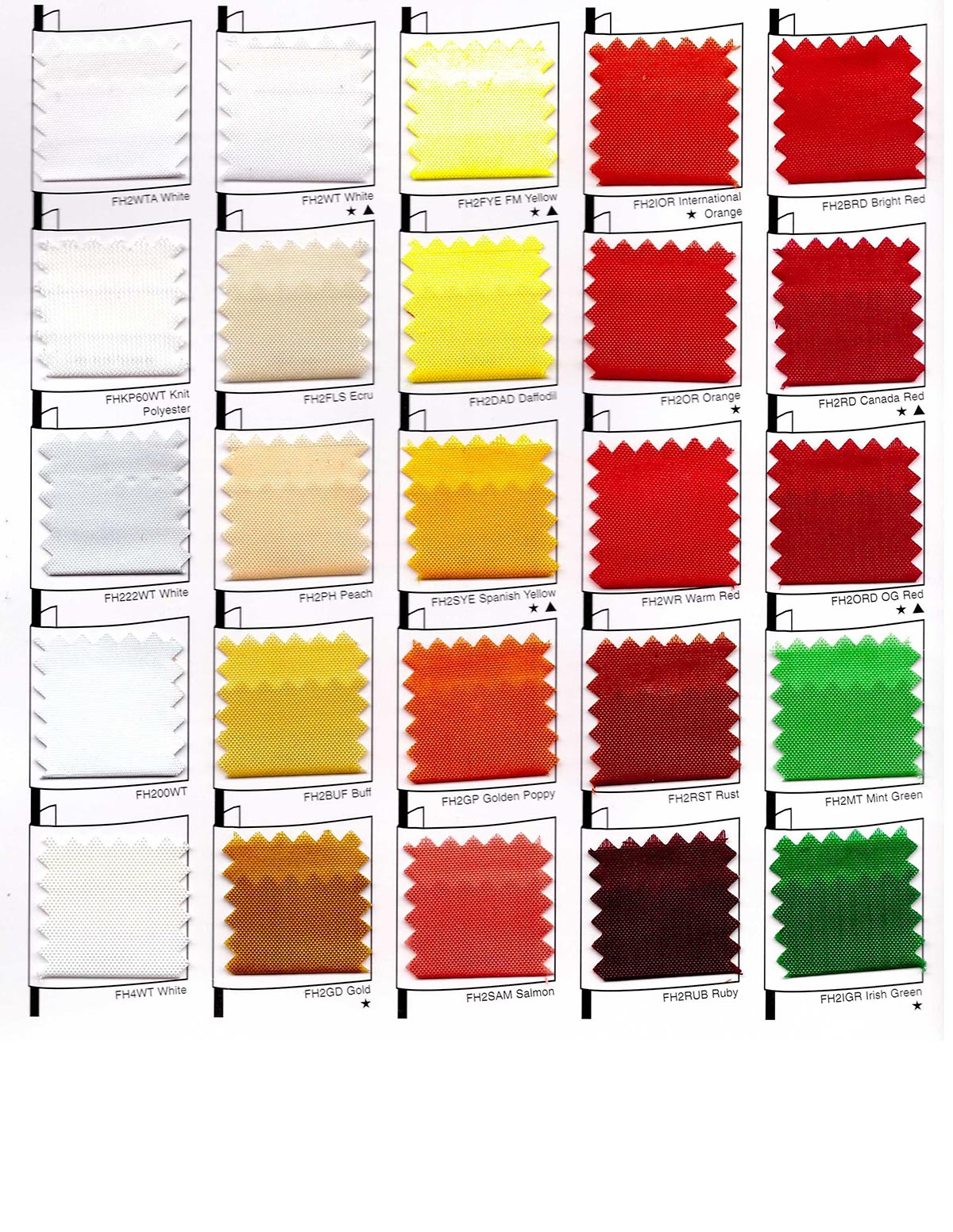 Nylon color chart designs in motion mobile color charts nvjuhfo Images